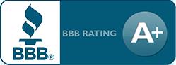 Better Business Bureau Rating A+