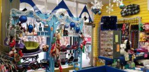 Christmas at Ridge Dog Shop in Richmond, VA.